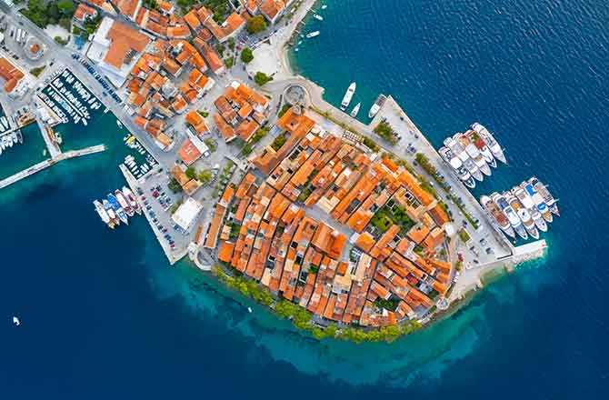 Information on travel to Croatia and Island Korčula