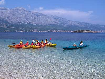 Tour di Korčula all'aperto